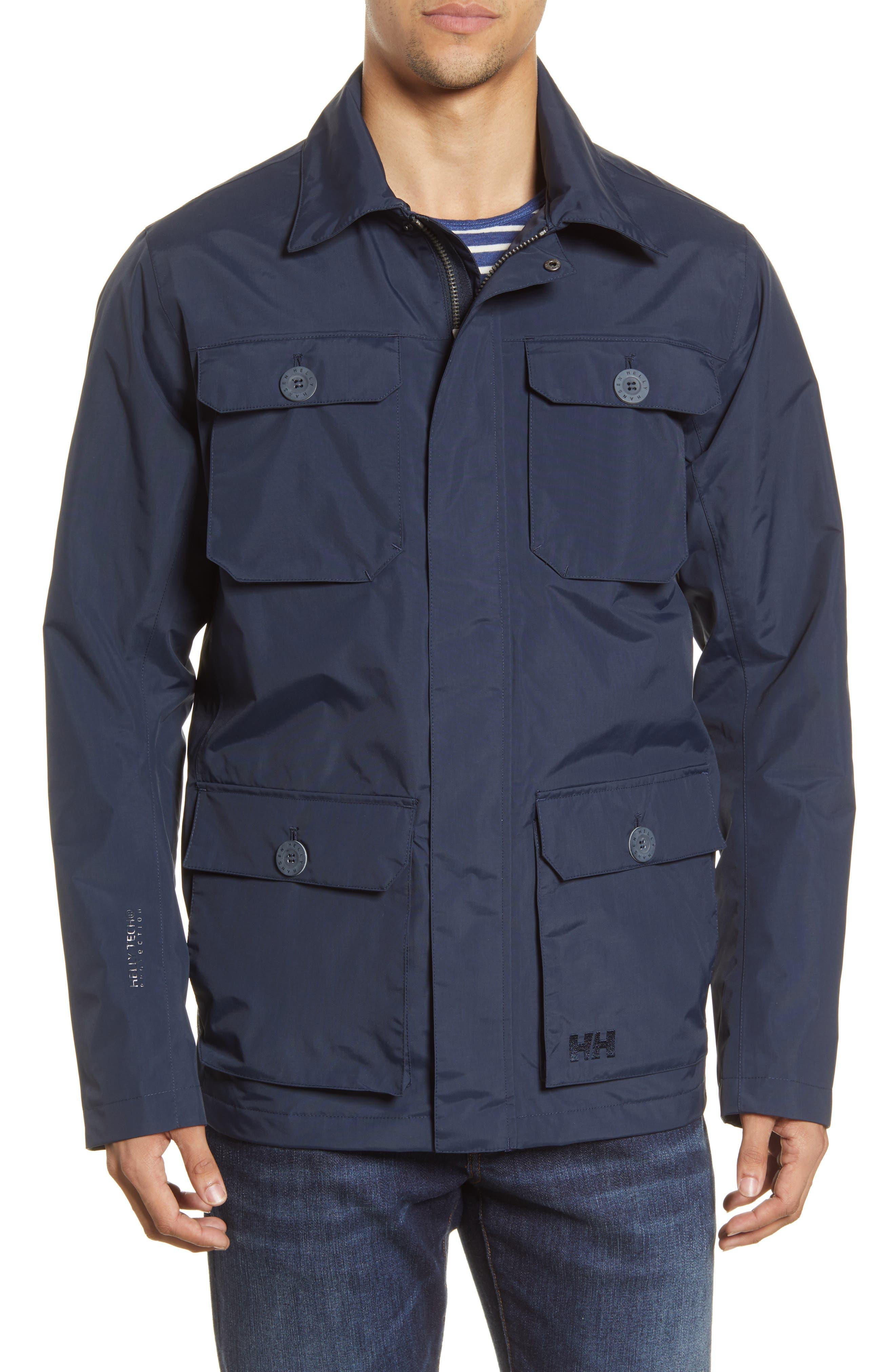 Kobe Waterproof Helly Tech Field Jacket