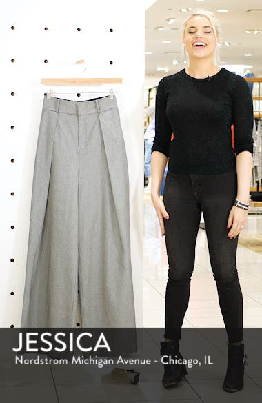 Houndstooth Wide Leg Trousers, sales video thumbnail