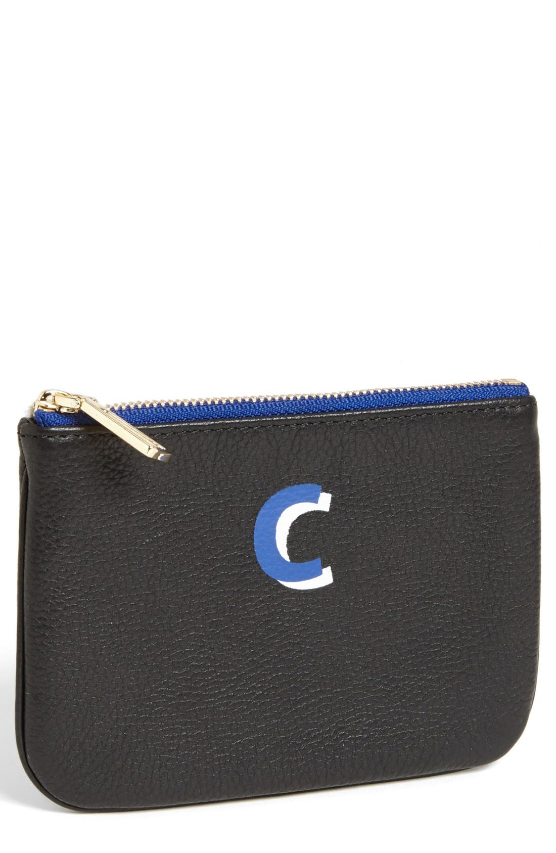 ,                             'Cory - A-Z' Leather Pouch,                             Main thumbnail 7, color,                             003