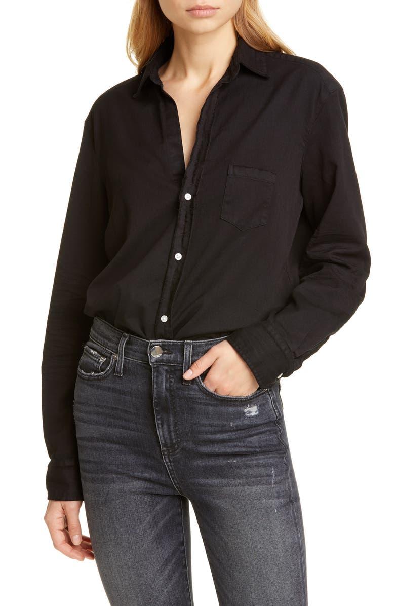 FRANK & EILEEN Eileen Cotton Denim Shirt, Main, color, 001