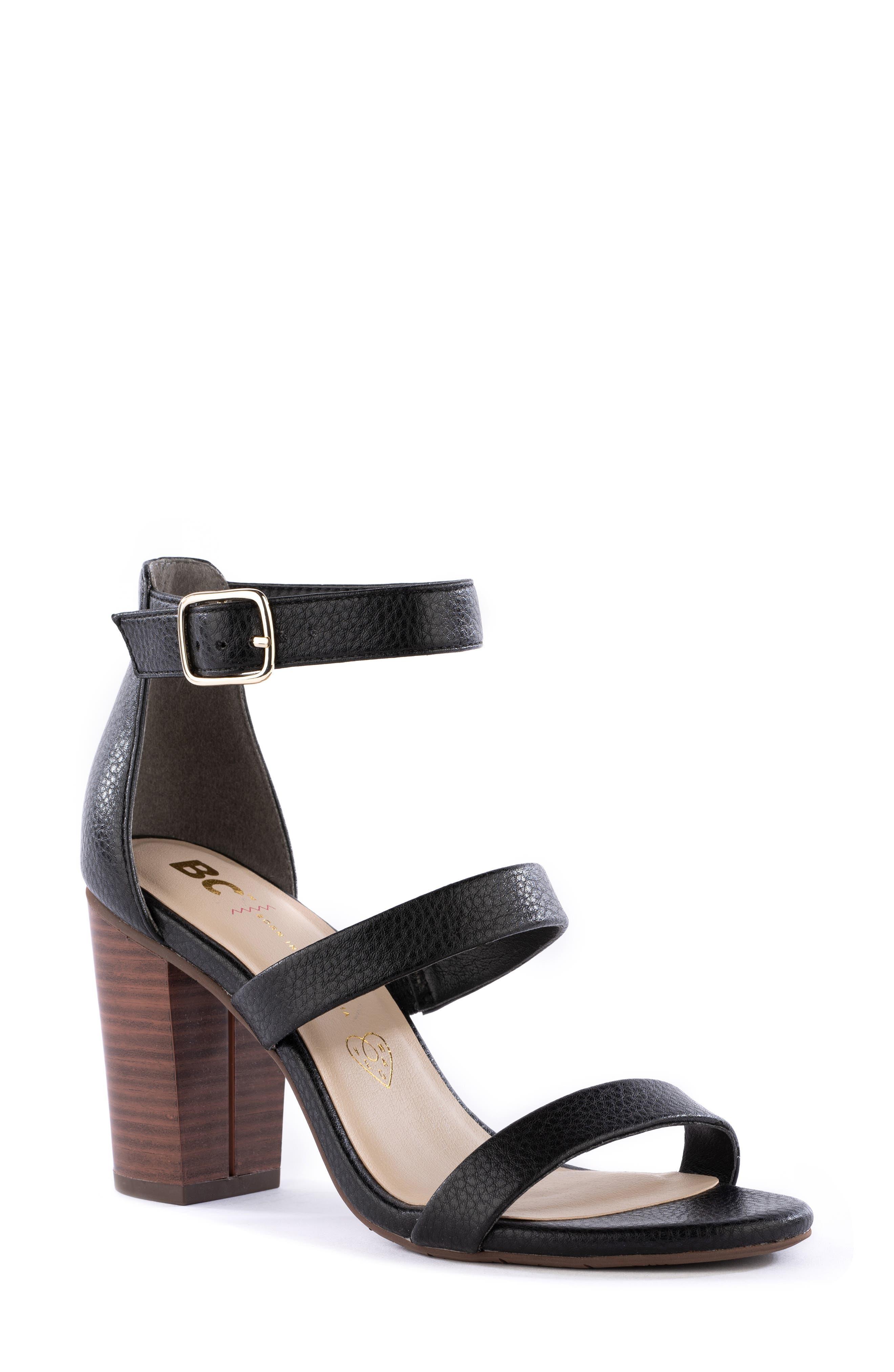 Justified Ankle Strap Sandal