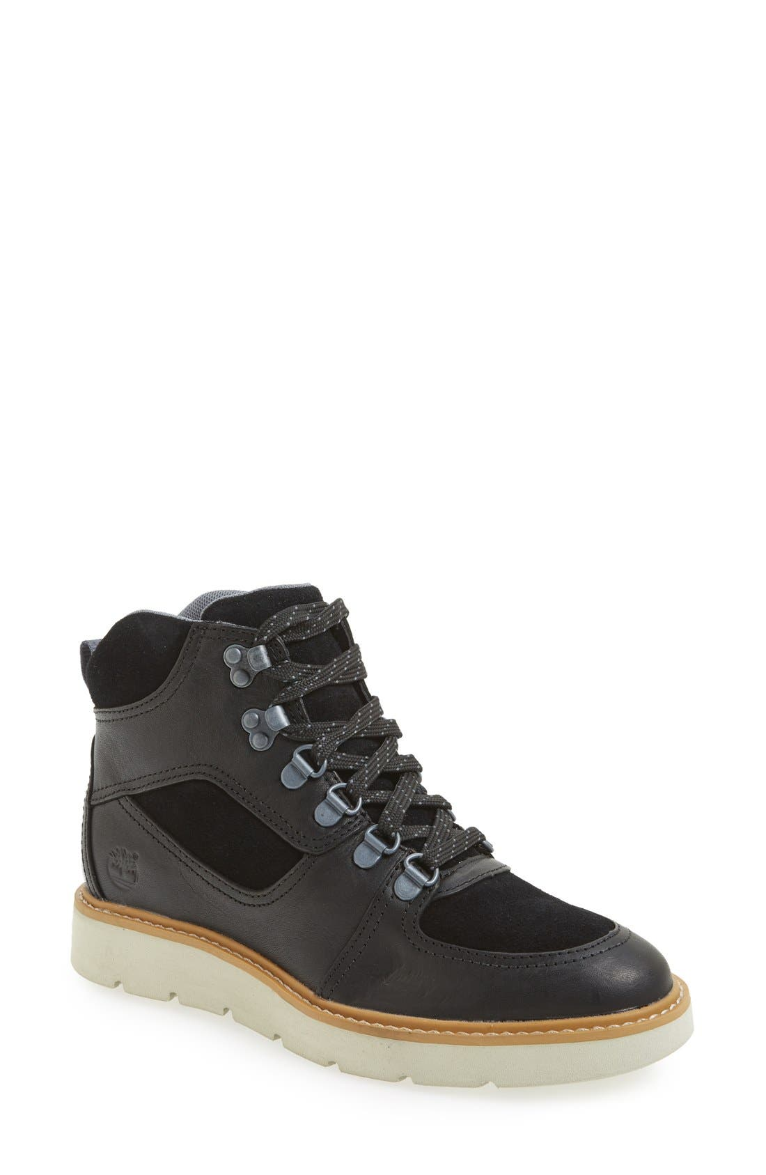 'Kenniston' Lace-Up Boot, Main, color, 001