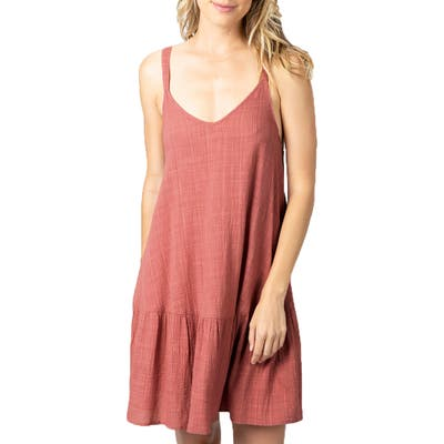 Rip Curl Classic Surf Cover-Up Dress, Pink