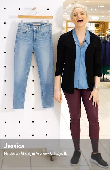 Icon Frayed Crop Skinny Jeans, sales video thumbnail