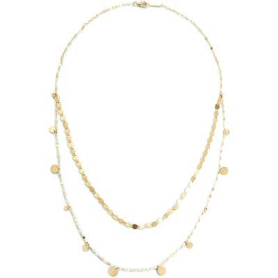 Lana Jewelry Casino Dangling Disc Layered Necklace