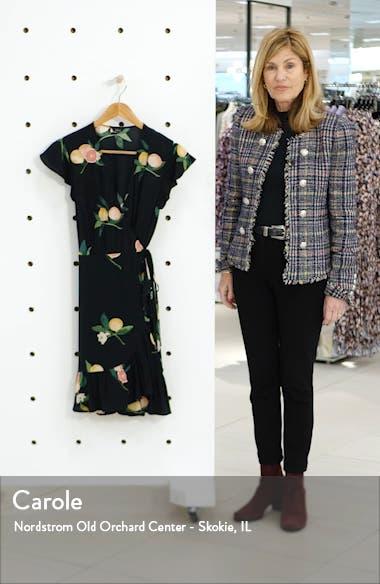 Koreen Short Sleeve Wrap Dress, sales video thumbnail