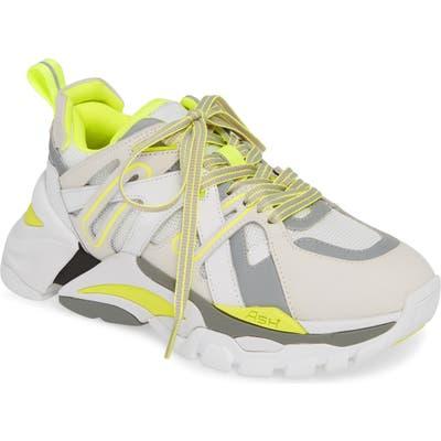 Ash Flash Sneaker, Yellow