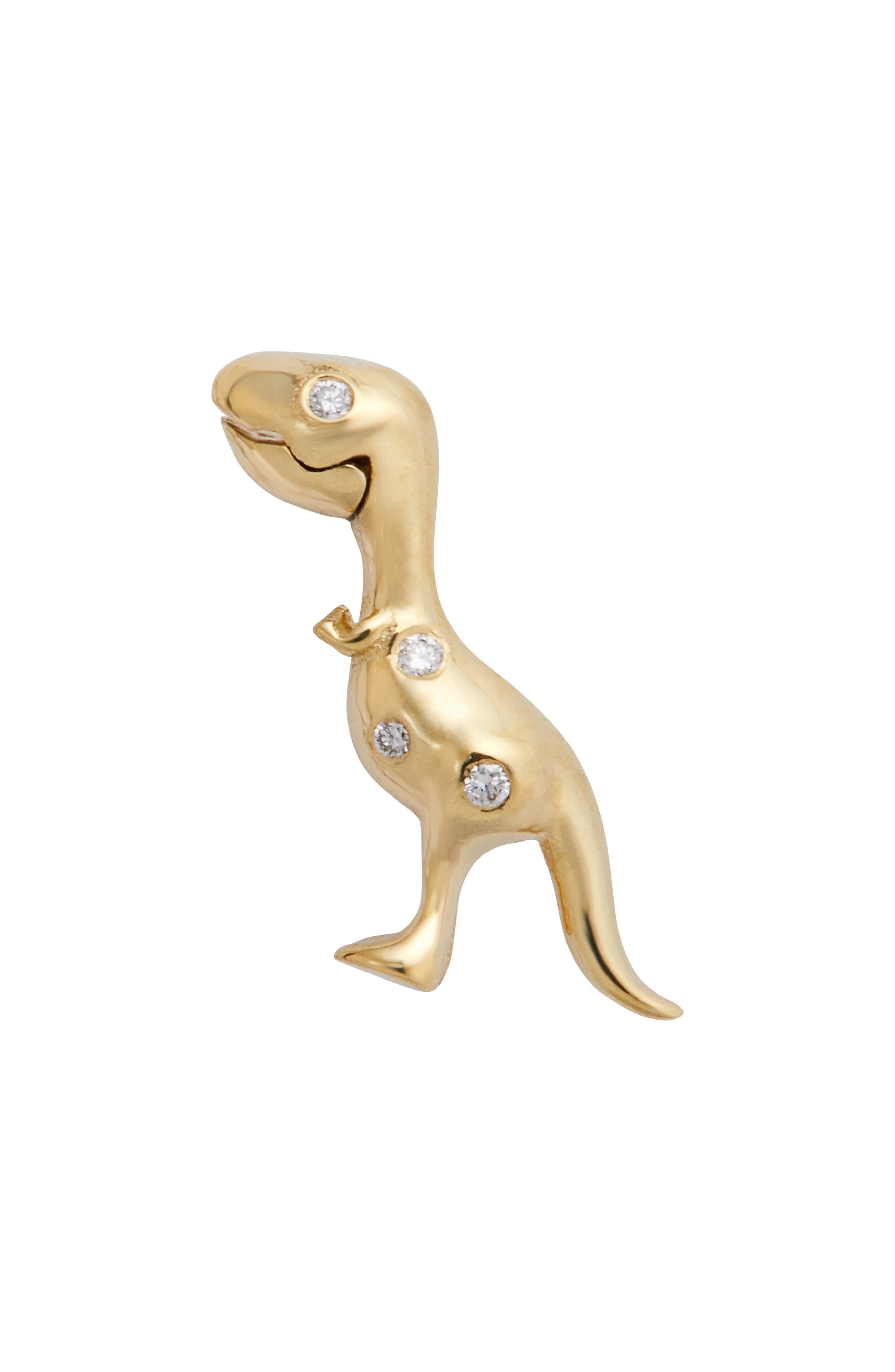 """X """"jurassic Park"""" 25Th Anniversary Baby T-Rex Stud Earring (Nordstrom Exclusive)"""