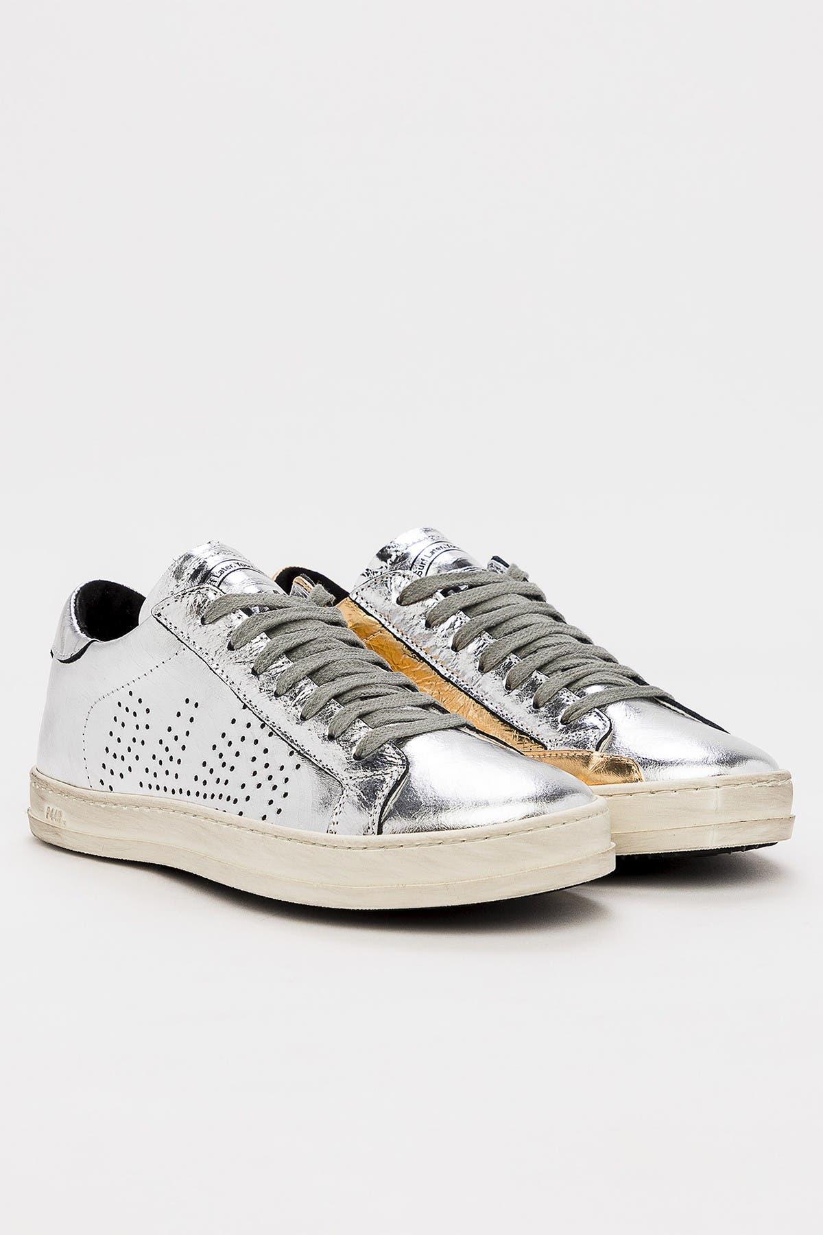 P448 | John Metallic Leather Sneaker