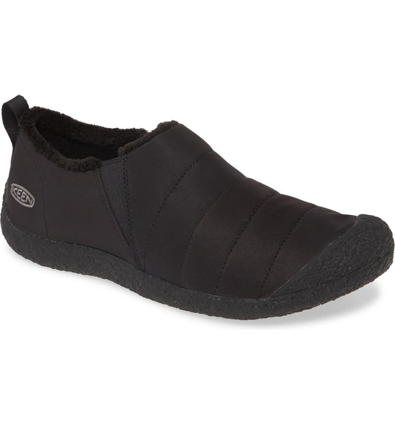 KEEN 'Howser II' Slipper, Main, color, BLACK/ STEEL GREY
