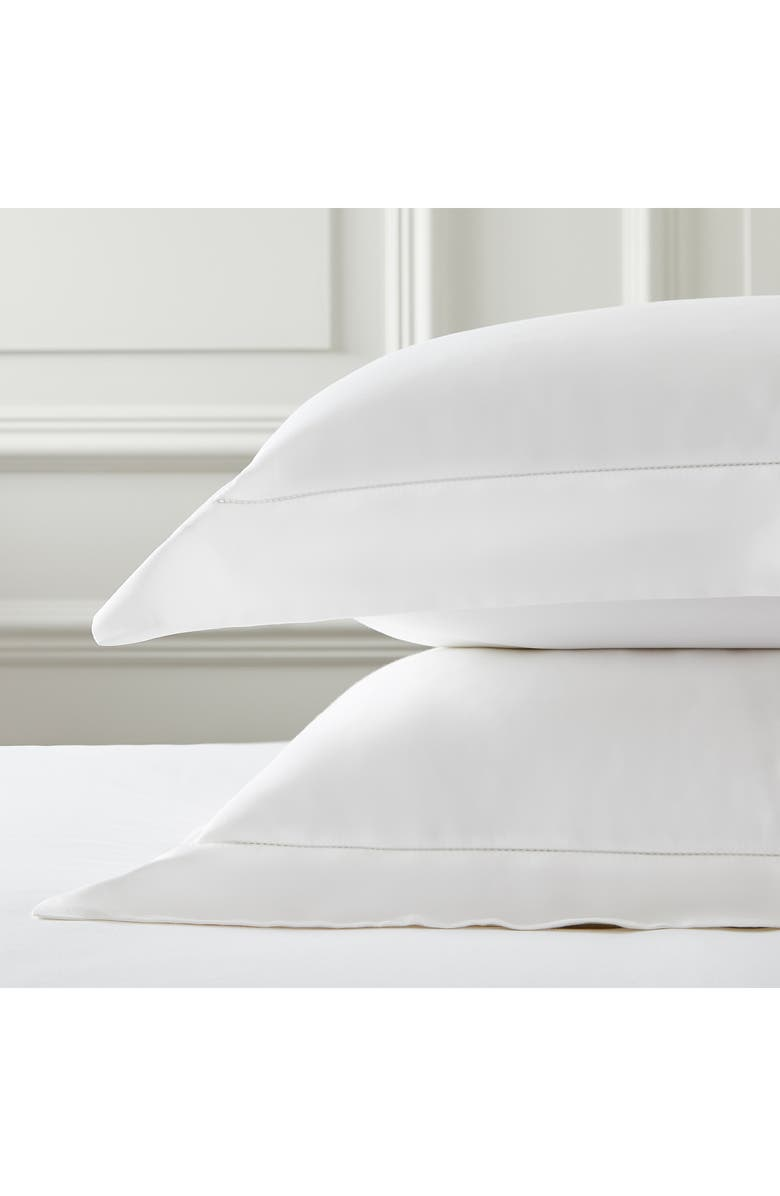 THE WHITE COMPANY Connaught Pillow Sham, Main, color, CHALK