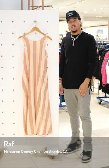 Stripe Scoop Back Dress, sales video thumbnail