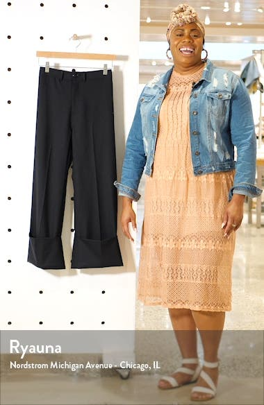 Hayes High Waist Cuff Pants, sales video thumbnail