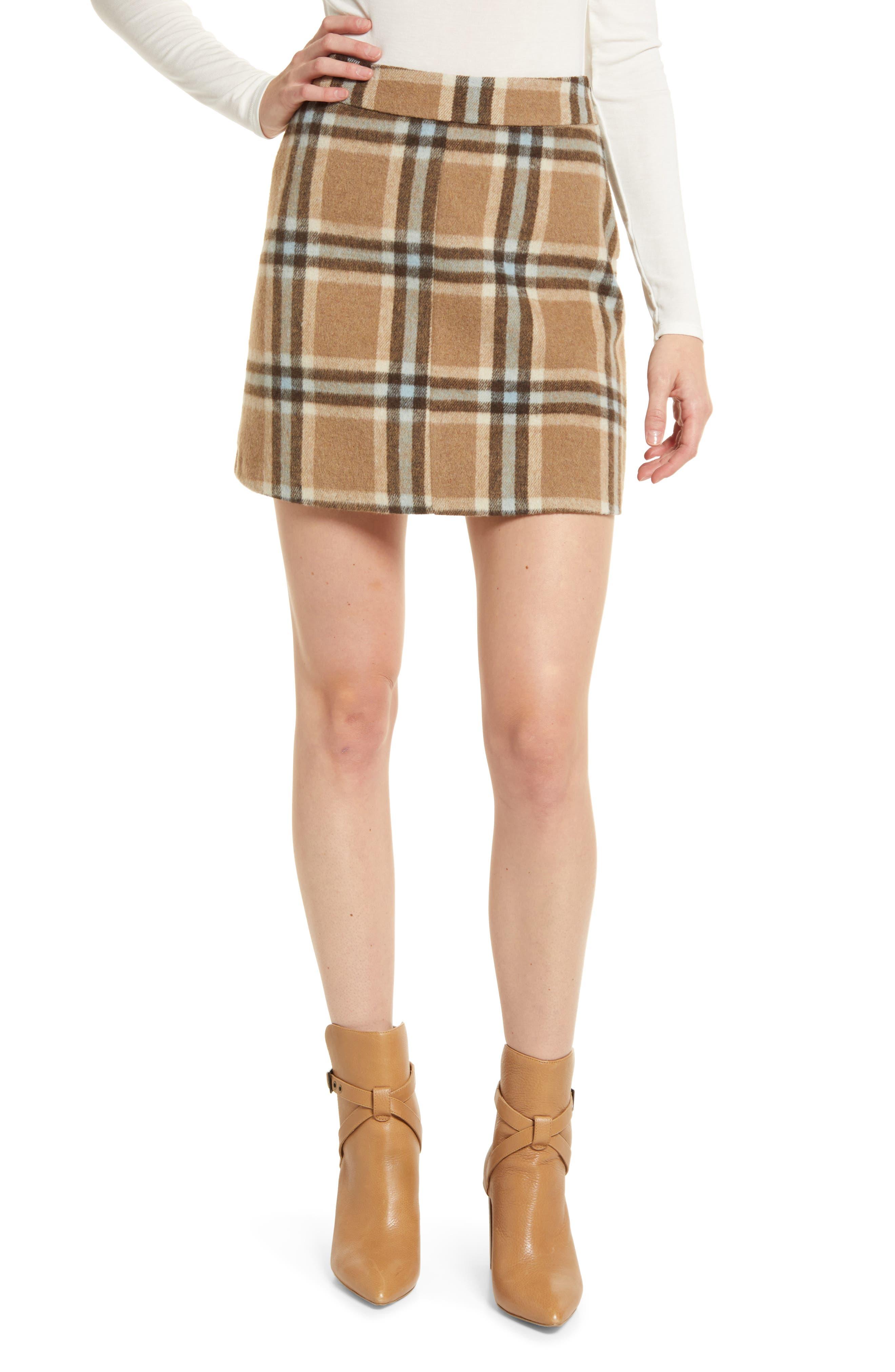 Mad For Plaid Miniskirt