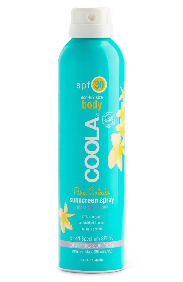 COOLA<SUP>®</SUP> Suncare Sport Sunscreen Spray Broad Spectrum SPF 30, Main, color, PINA COLADA