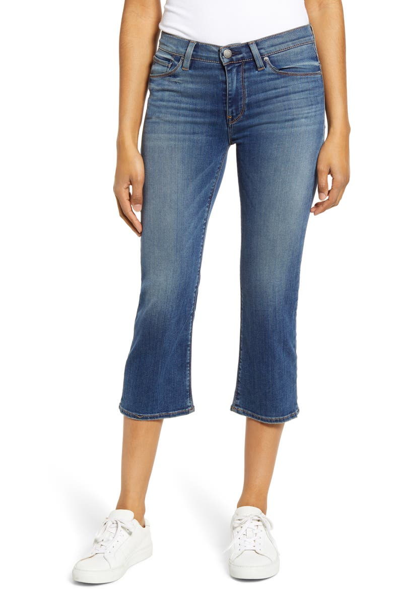 Hudson Jeans Stella Crop Straight Leg Jeans Into You
