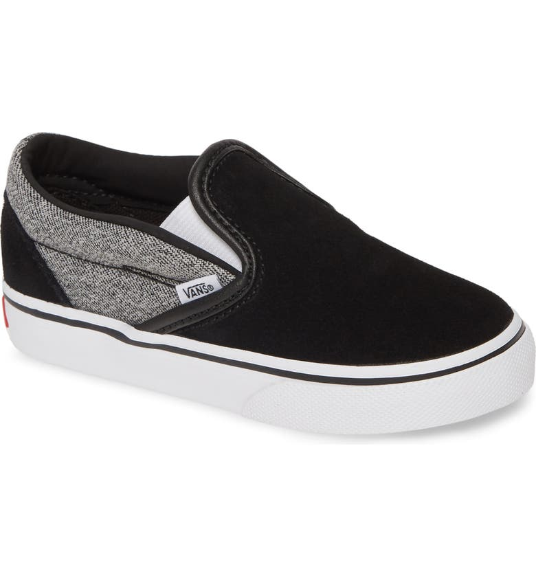VANS Classic Slip-On Sneaker, Main, color, SUITING/ BLACK