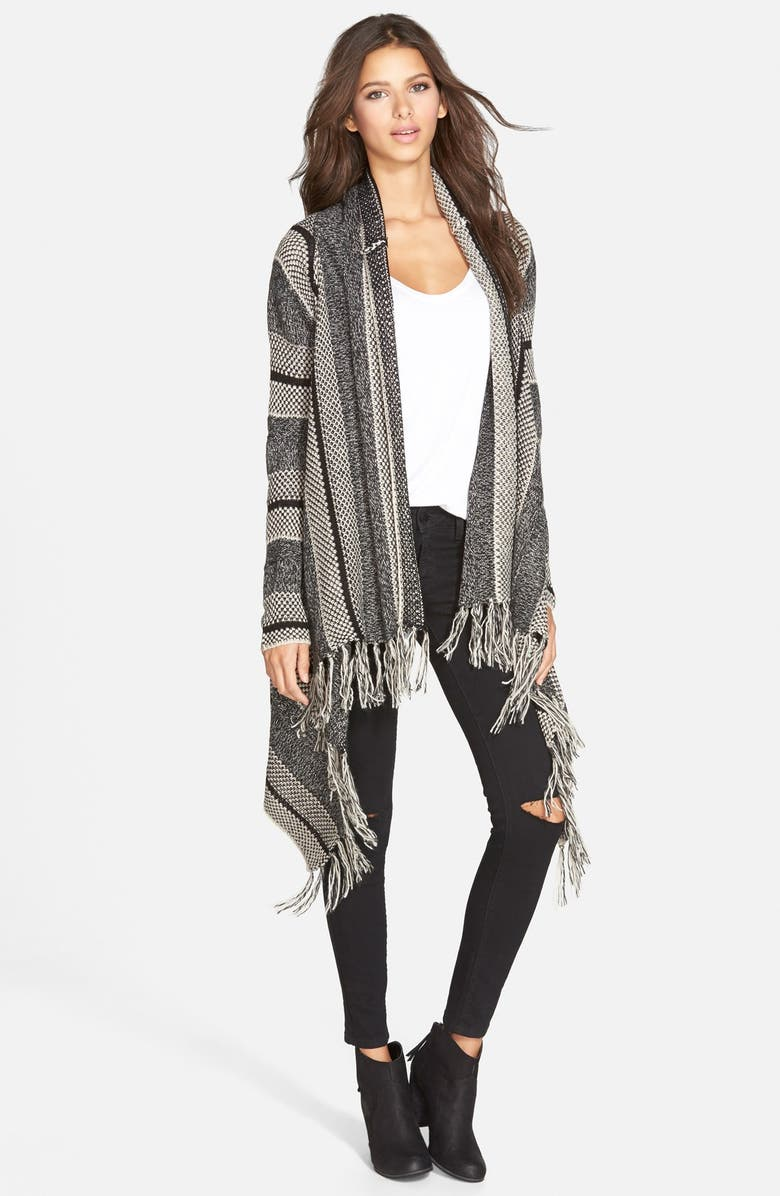 LOVE BY DESIGN Blanket Cardigan, Main, color, 001