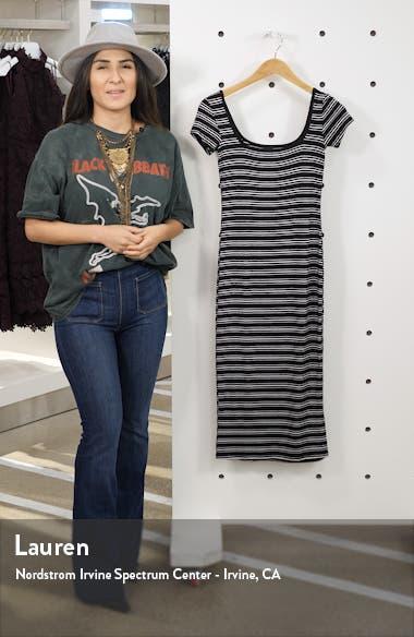 Day Night Midi T-Shirt Dress, sales video thumbnail