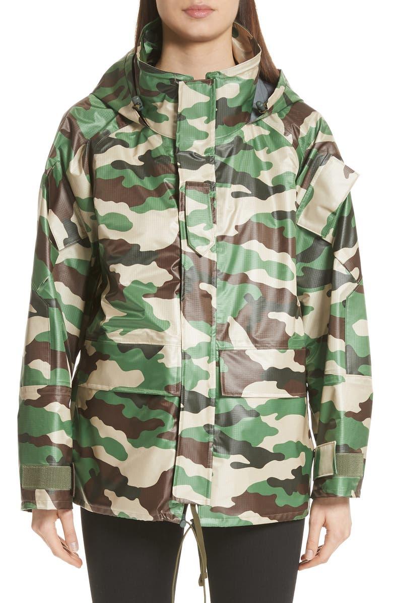 JUNYA WATANABE Camo Nylon Jacket, Main, color, 300