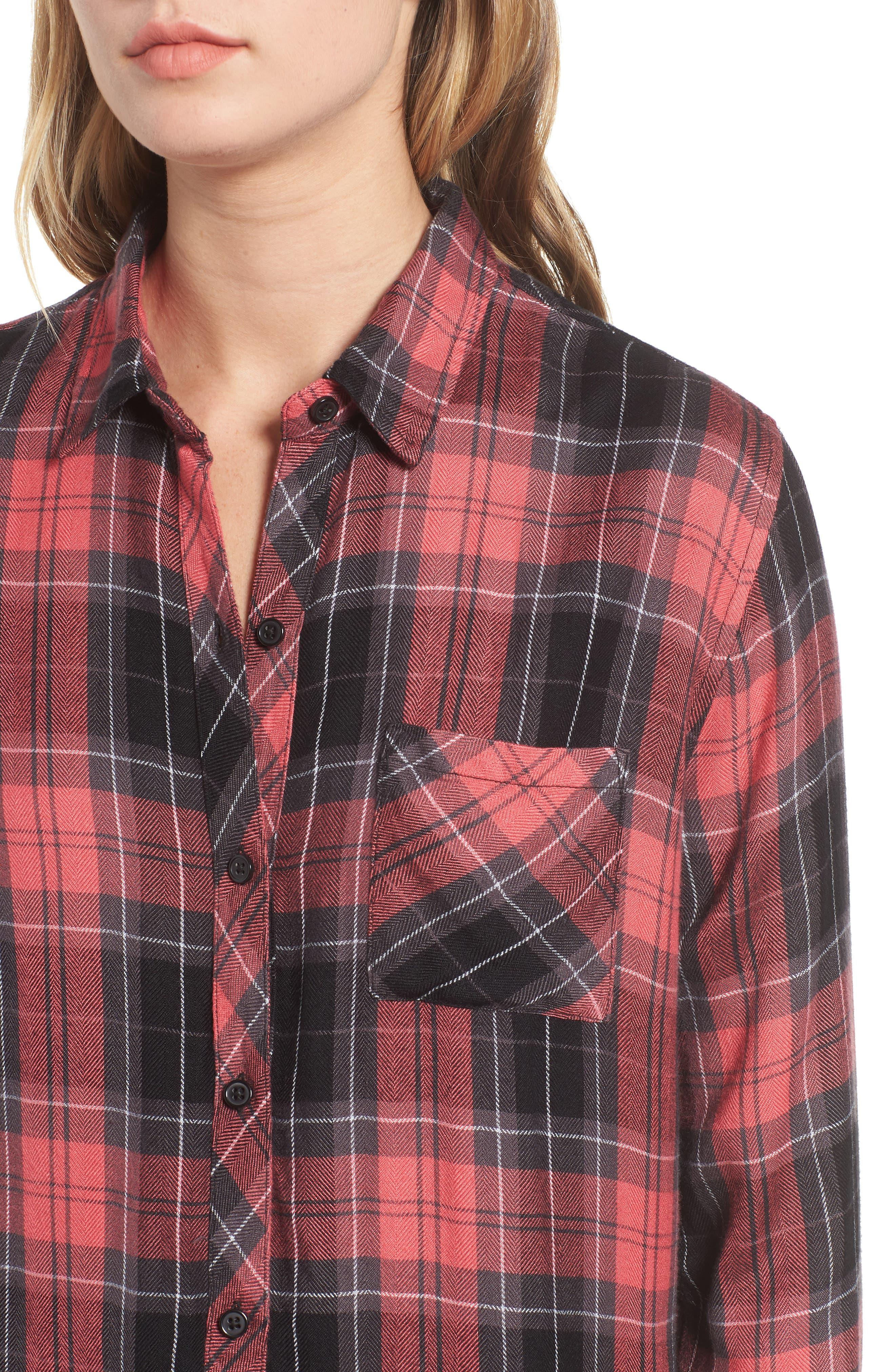 ,                             Hunter Plaid Shirt,                             Alternate thumbnail 171, color,                             601