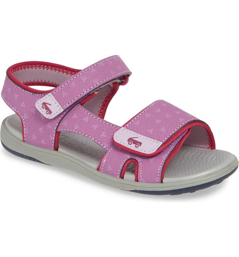 SEE KAI RUN Jetty III Sandal, Main, color, PURPLE
