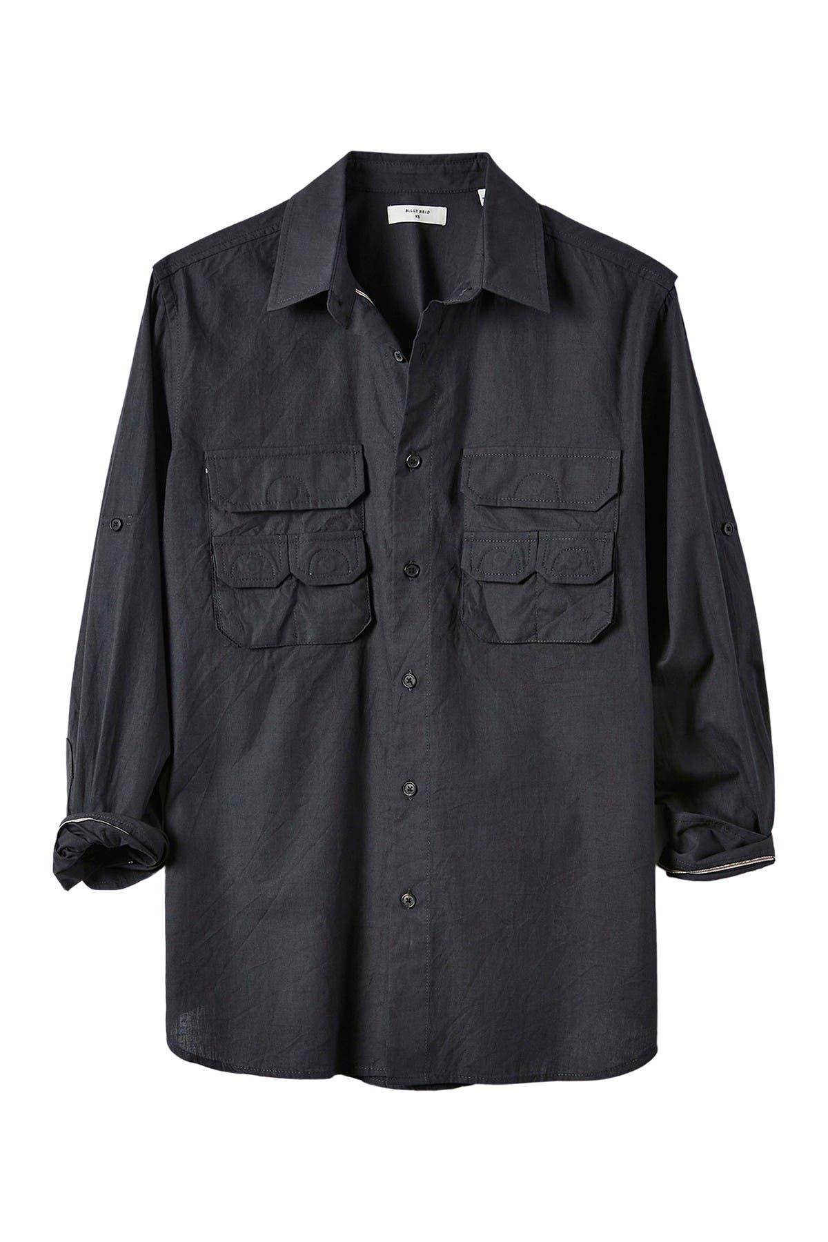 Image of Billy Reid Selvage Fisherman Shirt