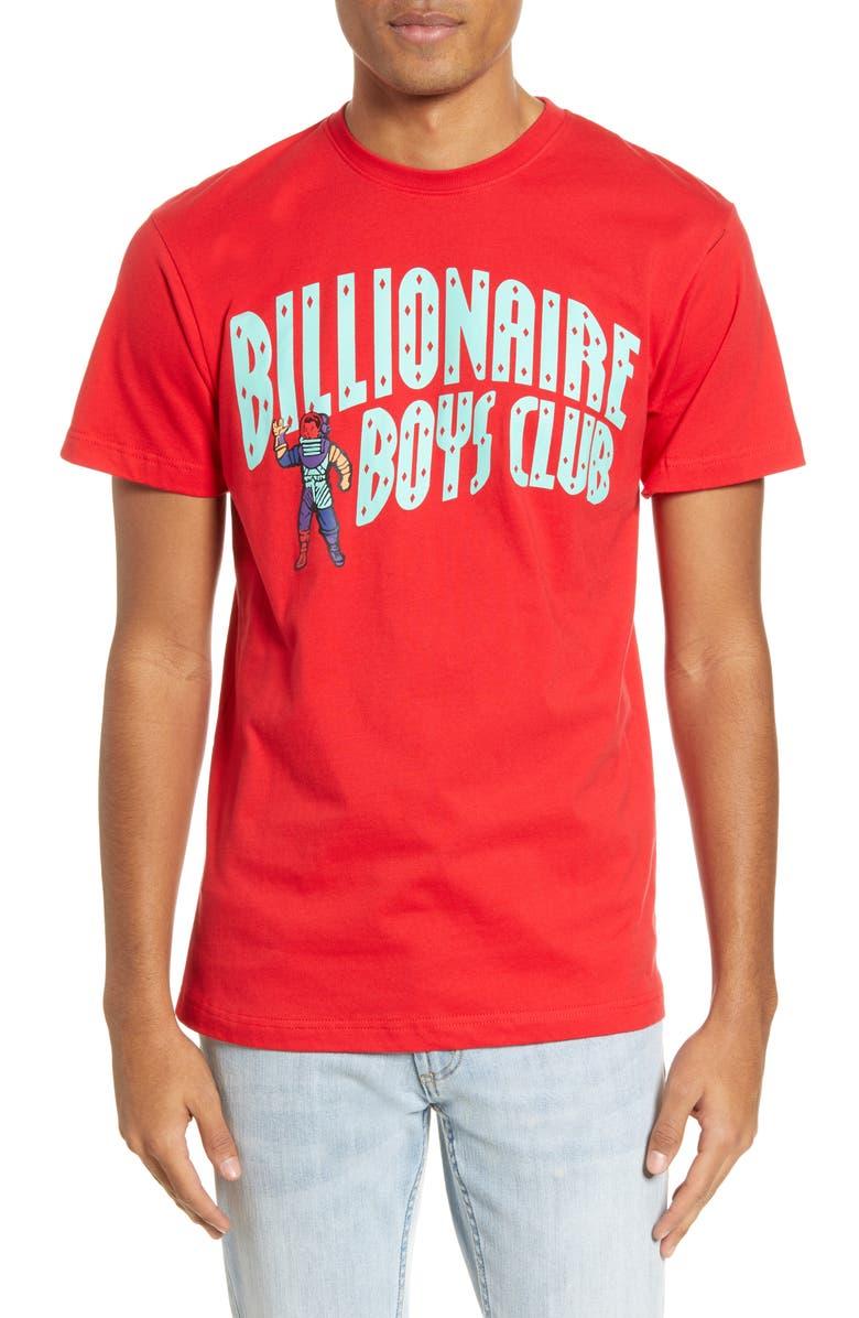 BILLIONAIRE BOYS CLUB Astro Arch Graphic Tee, Main, color, 600