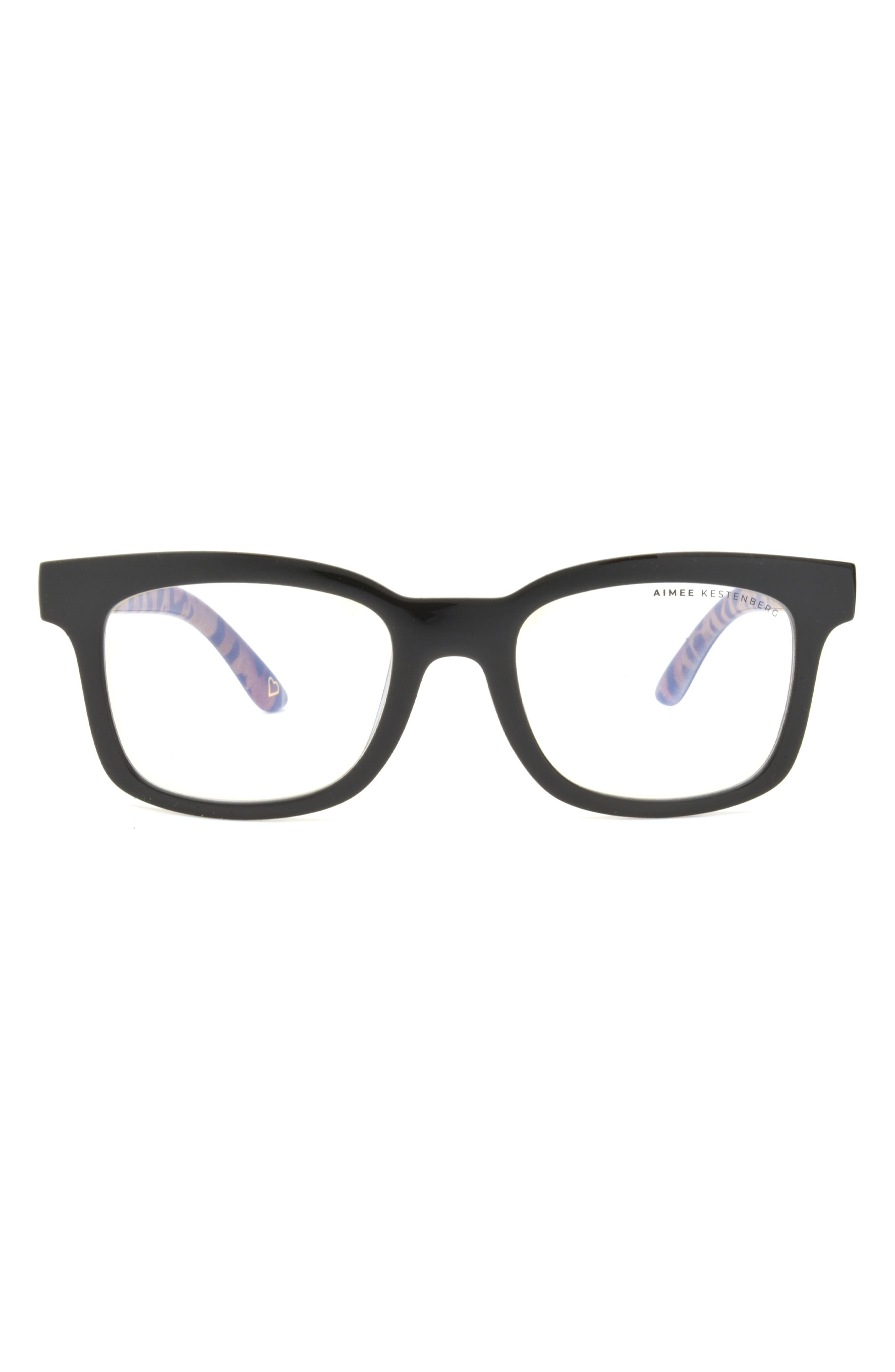 Bleeker 50mm Rectangle Blue Light Blocking Glasses