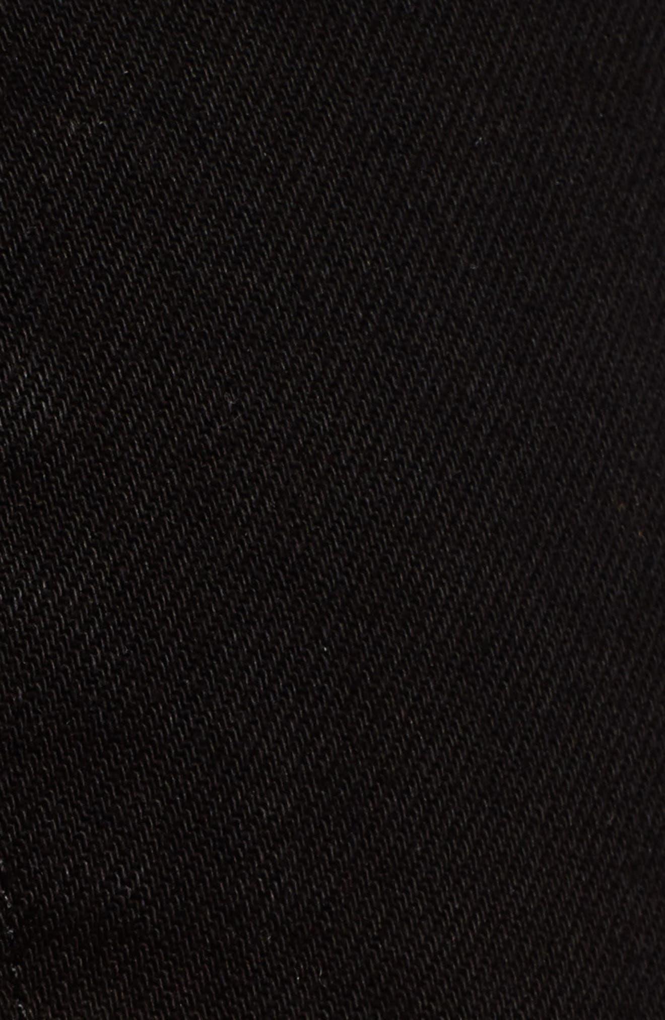 ,                             Julia High Waist Cigarette Jeans,                             Alternate thumbnail 4, color,                             BLACK DESTROYED