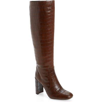 Jeffrey Campbell Entuit Knee High Boot, Brown