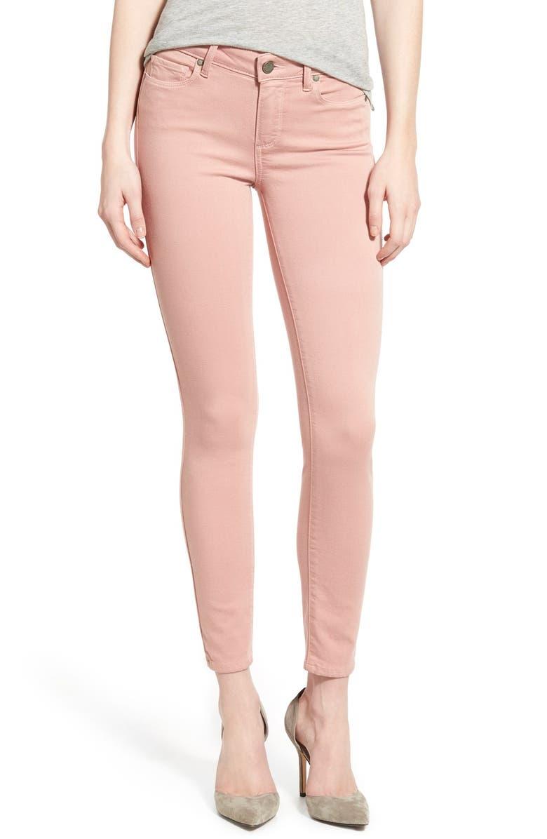 PAIGE Denim 'Transcend - Verdugo' Ankle Ultra Skinny Jeans, Main, color, 650