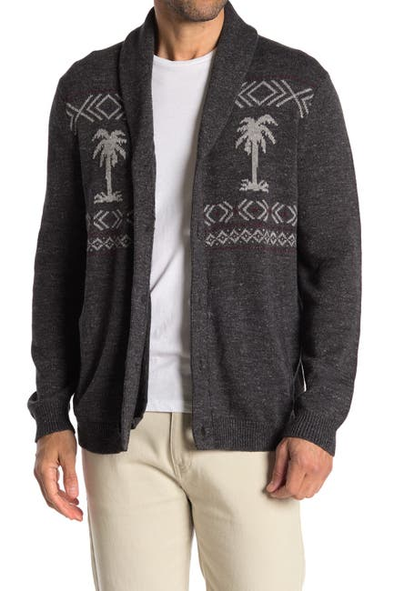 Image of Tommy Bahama Hula Days Fair Isle Cardigan