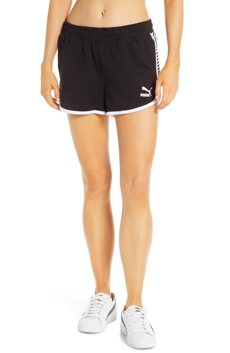 PUMA Clash Shorts, Main, color, 001