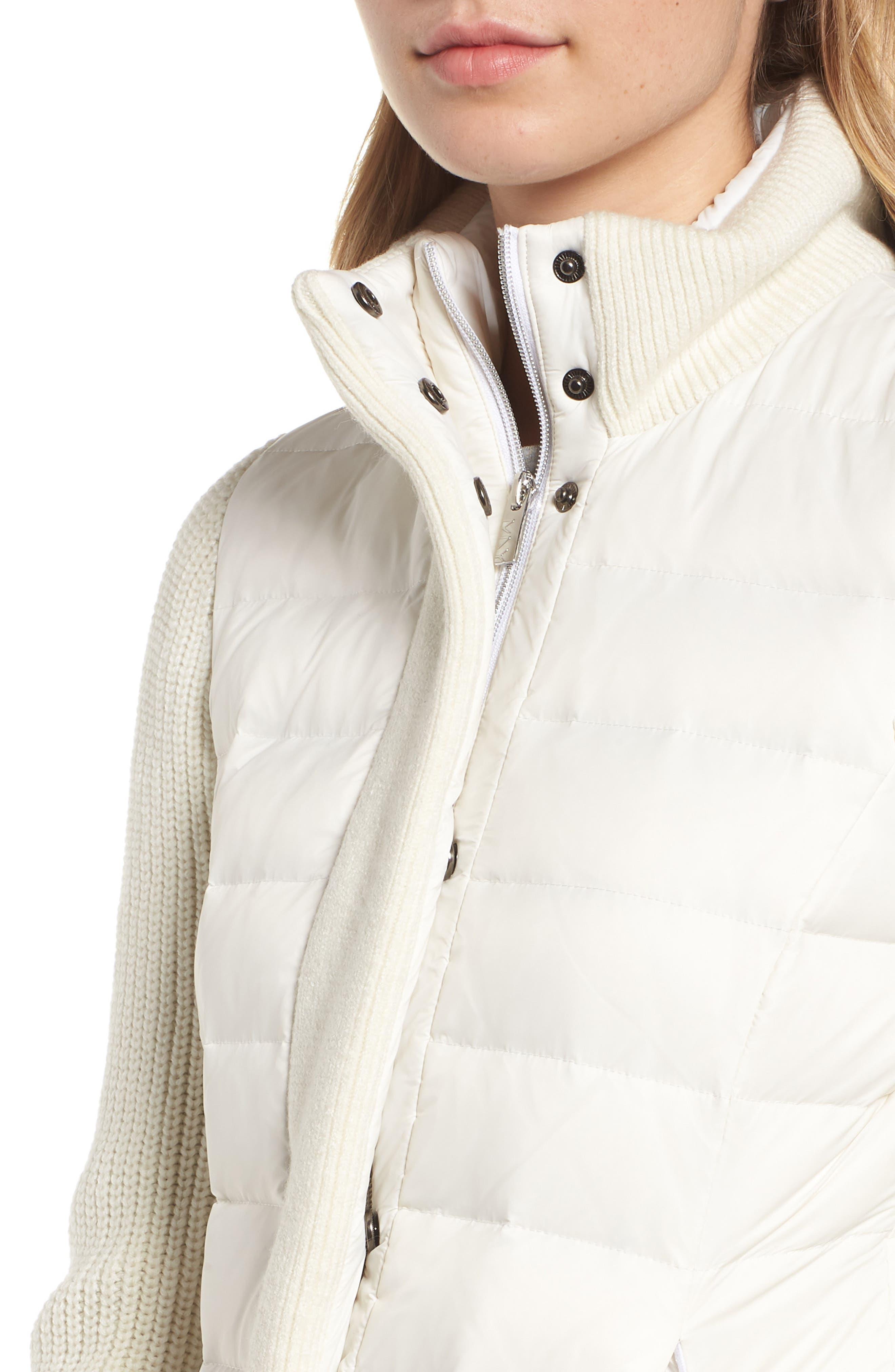 ,                             Mark New York Packable Knit Trim Puffer Jacket,                             Alternate thumbnail 17, color,                             900