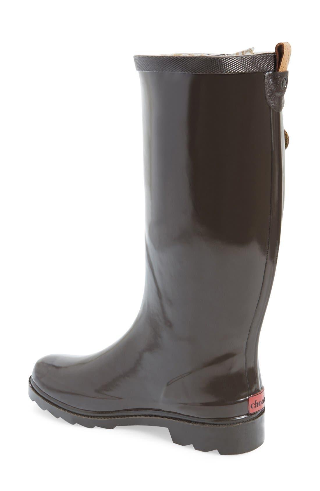 ,                             'Top Solid' Rain Boot,                             Alternate thumbnail 18, color,                             200