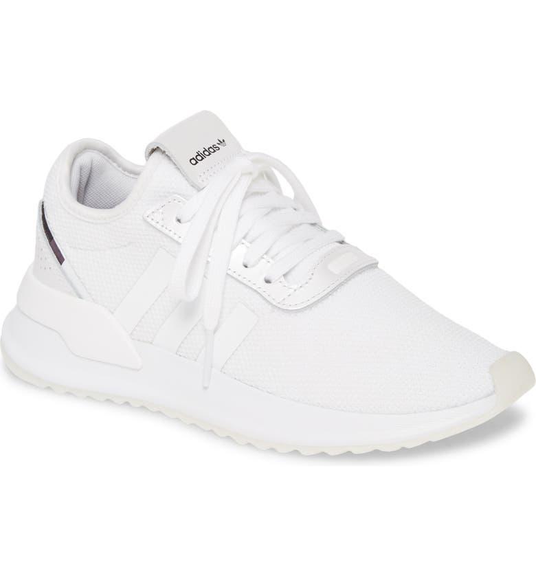 ADIDAS U-Path Run Sneaker, Main, color, WHITE/ PURPLE BEAUTY/ BLACK