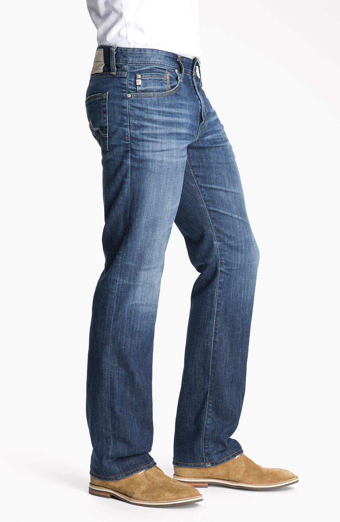 ,                             'Protégé' Straight Leg Jeans,                             Alternate thumbnail 37, color,                             429