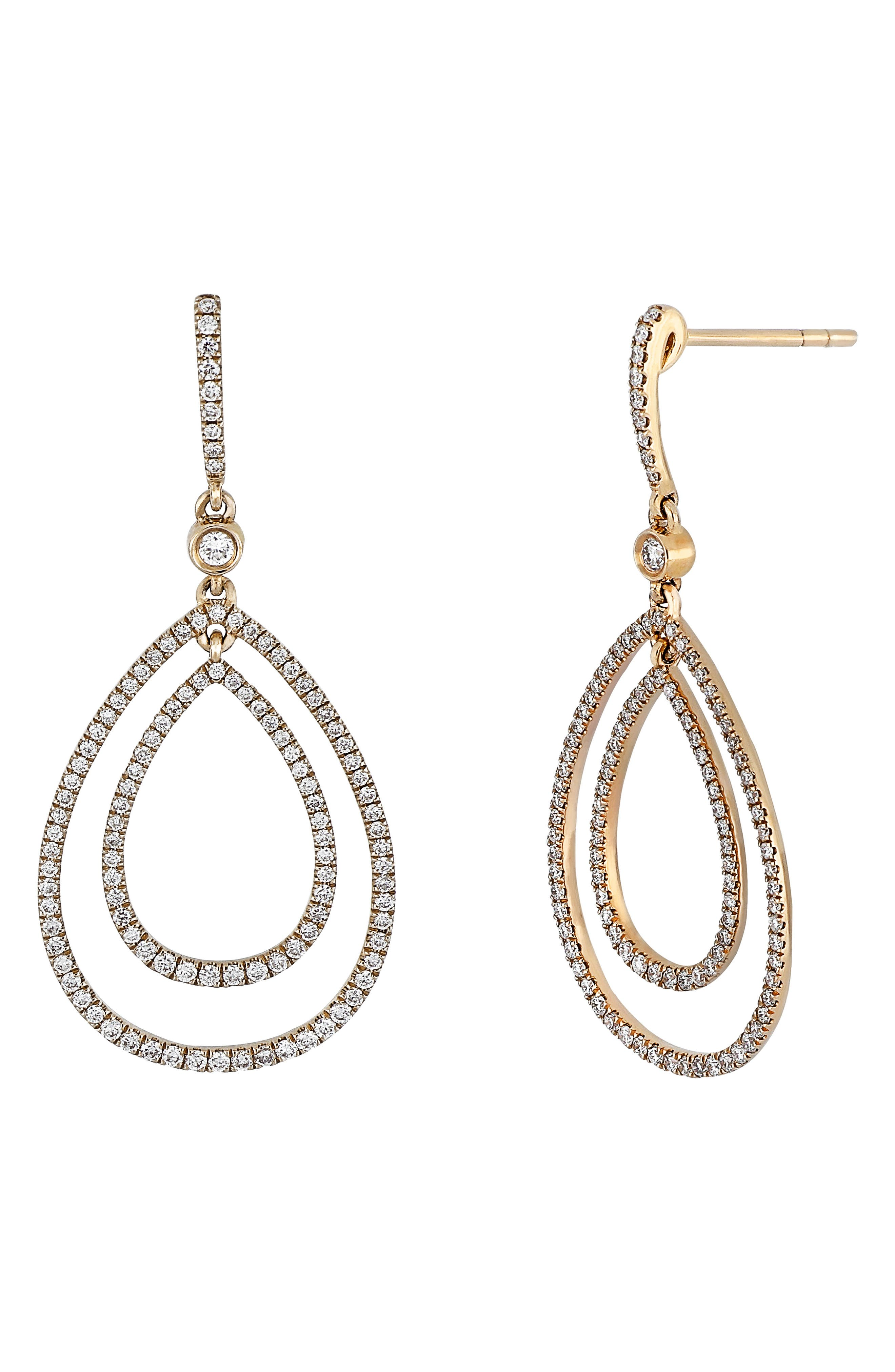 Diamond Drop Earrings (Nordstrom Exclusive)