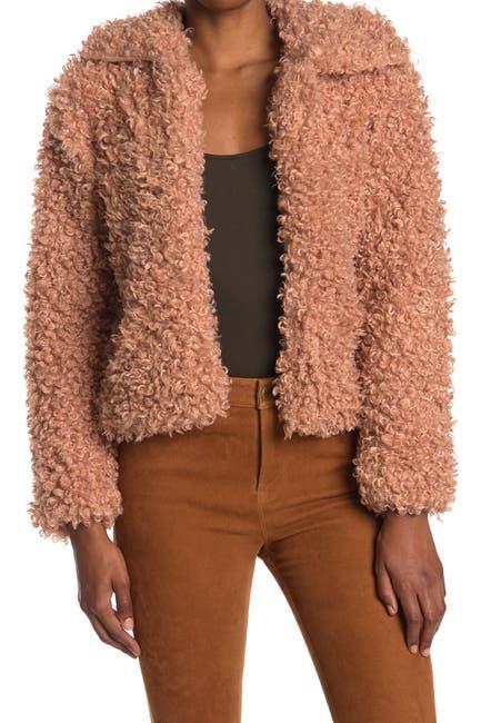 Image of NOIZE Kelly Faux Fur Jacket