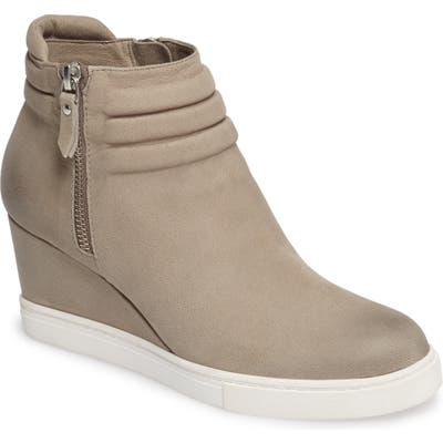 Linea Paolo Frieda Wedge Bootie, Grey