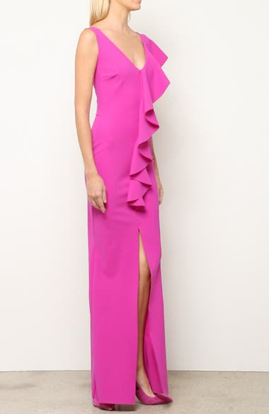 Boudicea Ruffle Evening Dress, video thumbnail