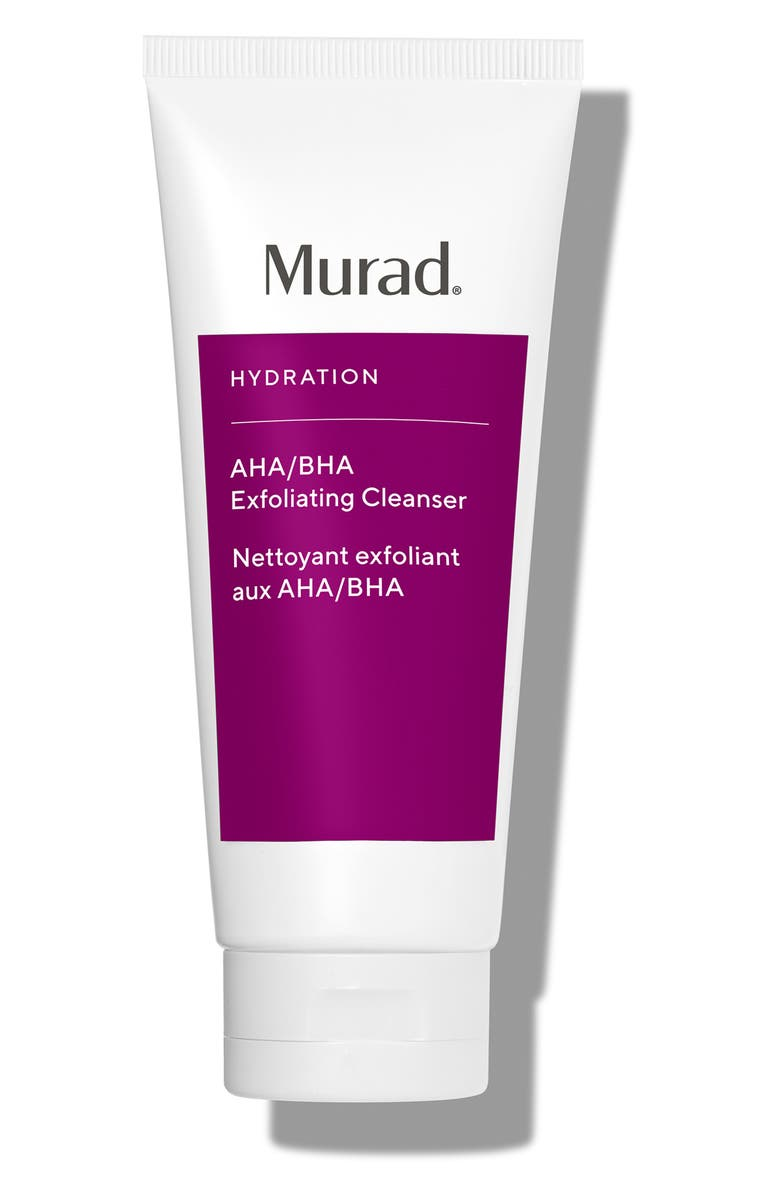 MURAD<SUP>®</SUP> AHA/BHA Exfoliating Cleanser, Main, color, NO COLOR