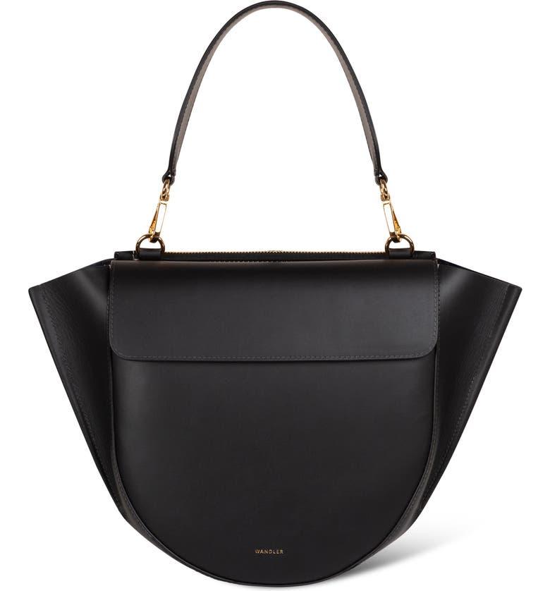 WANDLER Hortensia Medium Bag, Main, color, BLACK