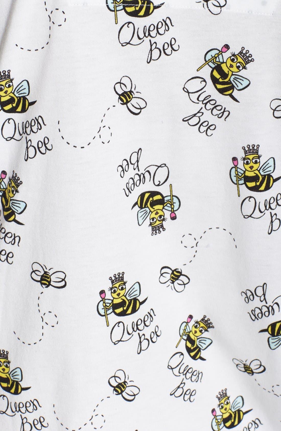 ,                             Print Jersey Pajamas,                             Alternate thumbnail 11, color,                             100