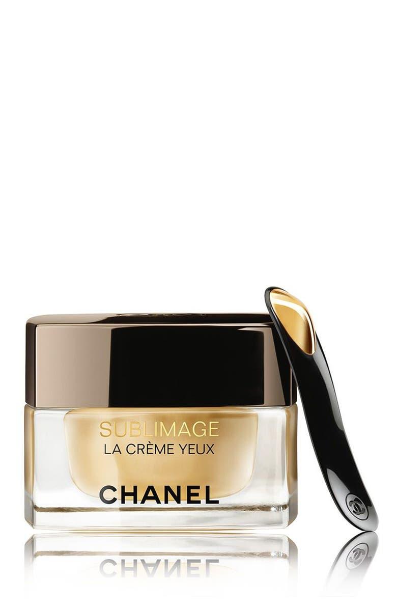 CHANEL SUBLIMAGE LA CRÈME YEUX <br />Ultimate Regeneration Eye Cream, Main, color, NO COLOR