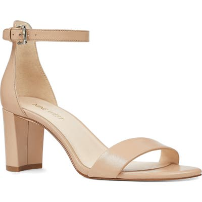 Nine West Pruce Ankle Strap Sandal, Beige