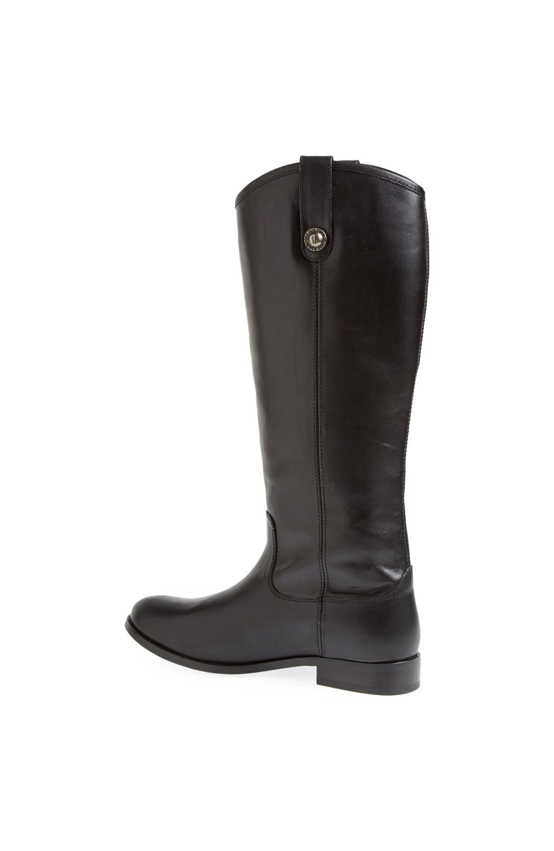 ,                             'Melissa Button' Leather Riding Boot,                             Alternate thumbnail 14, color,                             001