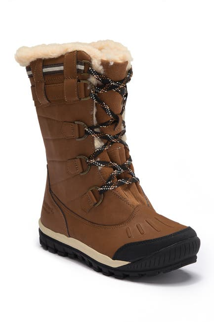 Image of BEARPAW Desdemona Genuine Sheepskin Lined Lace-Up Boot