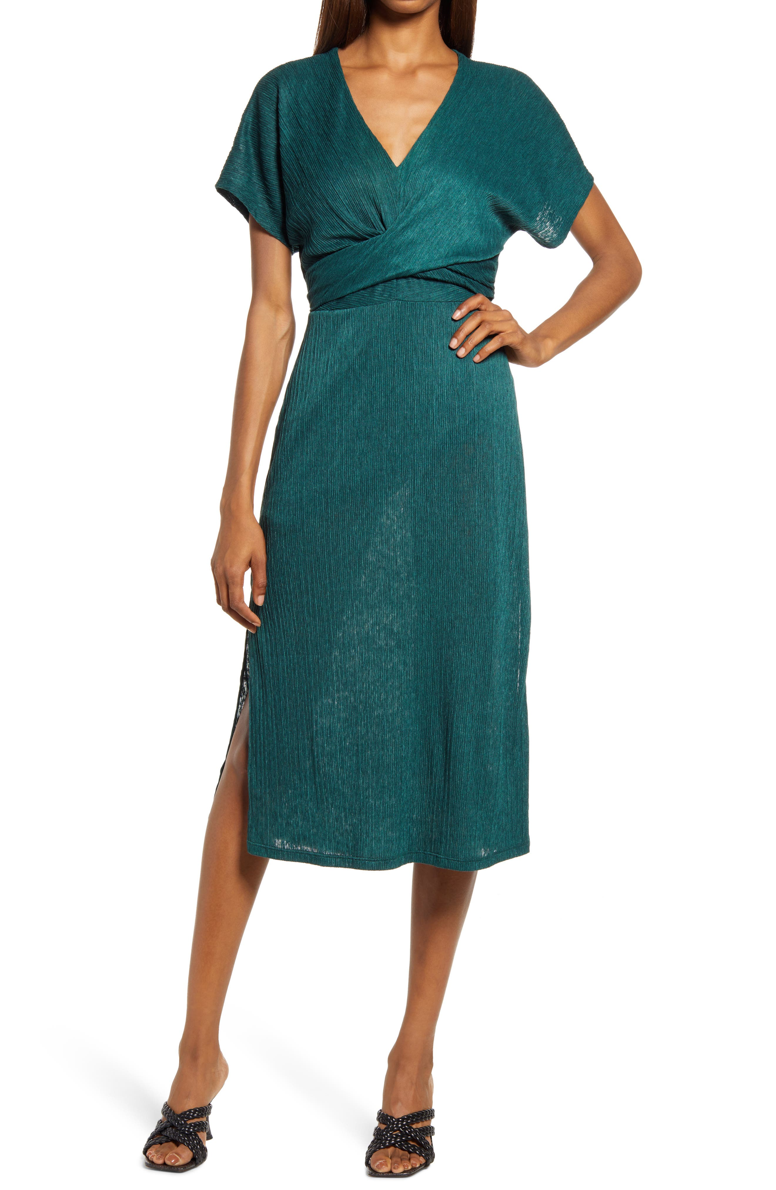 Phoebe V-Neck Midi Dress
